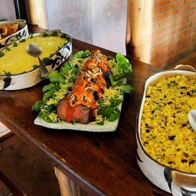 Serviço  de Almoço  Buffet para Eventos Fechados Especiais