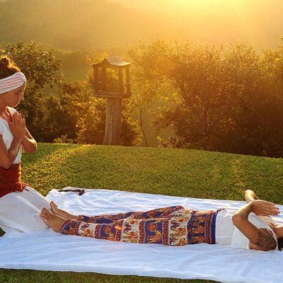 Massagem ao ar livre 4 - Shambala