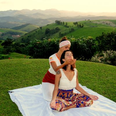 Massagem ao ar livre 3 - Shambala