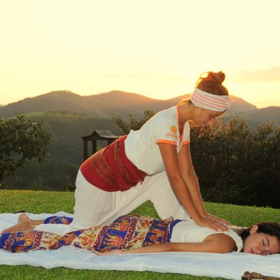 Massagem ao ar livre 2 - Shambala