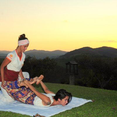 Massagem ao ar livre 1 - Shambala