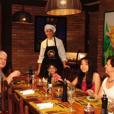 Jantar Especial para Comemorações Aniversarios Familiar