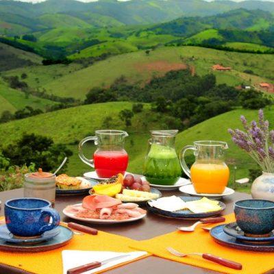 Café da manhã ao ar livre 2